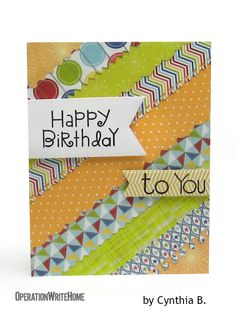 Cheerful scraps on this background! #birthday card!