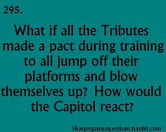 Hunger Games Questions