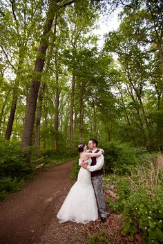 Rustic Maryland Wedding In Nature Center