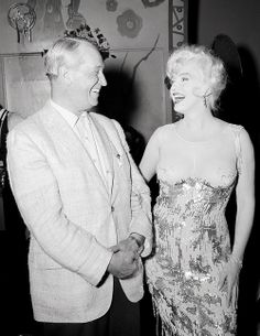 Marilyn and Maurice Chevalier