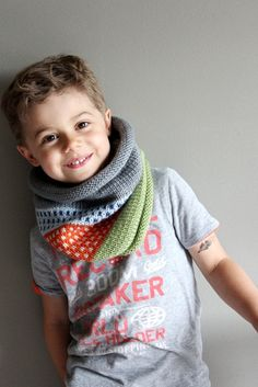 NEW  kids knit cowl in CONFETTI vegan friendly by thehouseofhemp, $42.00