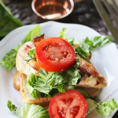 BLT Chicken Bake {Pa