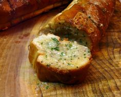 Italian Garlic Bread with Gorgonzola