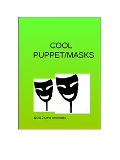 Easy and fun puppet masks to make with your students or as props for a class play. All you need are wire hangers, old pantyhose and some felt or wh...