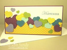 Stampin Up (Sizzix) embosslits