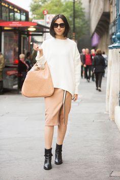 London winter fashion street looks 2015