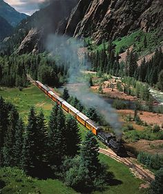 Durango & Silverton Narrow Gauge Railroad - Durango, Colorado