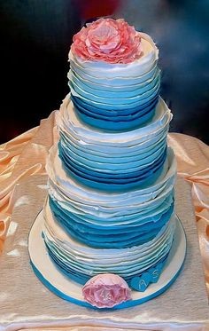 Ombre' Cake