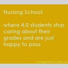 Nursing school truth haha