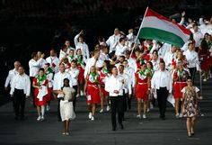 9 Best Dressed Countries at the 2012 London Olympic Opening Ceremonies / Hungary brought a unique flair to their uniforms for the opening ceremonies, as you can see in the above photograph.
