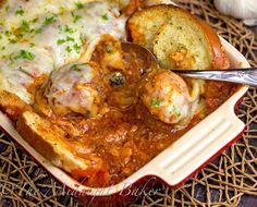 Fresh Asiago Meatball Sub Casserole Recipe - RecipeChart.com