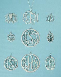 Filigree Monogram Pendants-monogram pendants, sterling monogram pendants, gold monogram pendants, pewter pendants, sterling jewelry, mothers jewelry, filigree monogram pendant, filigree monogram, pendant