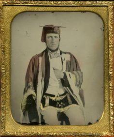 (c.1850s-60s) Fraternal order member