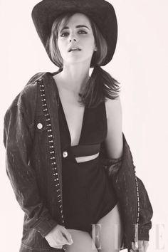 Emma Watson, Elle US (April 2014)