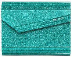 Candy Glitter Acrylic Clutch - Lyst