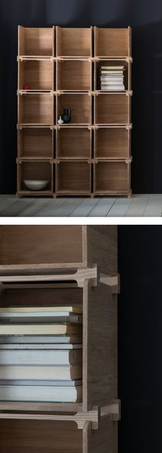 post office shelving unit by Pinch