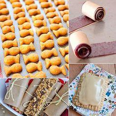 6 homemade versions of kids' favorite snacks