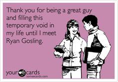 To my boyfriend.