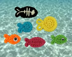 Ravelry: Fish Appliques pattern by Katie Christy