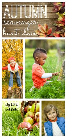 An autumn scavenger hunt is the perfect way to get out, explore and savor the season!  Enjoy these 15 autumn scavenger hunt ideas for your family!