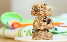 Healthy oatmeal raisin breakfast cookie
