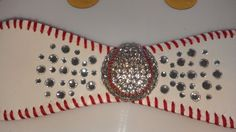 Gaudie Baseball Cuff Bracelet