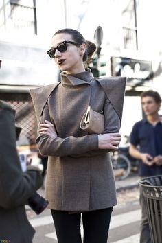 jacket, street style, sleev detail