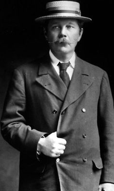 Sir Arthur Conan Doyle, whose birthday was yesterday, 5/21 Thank you for Sherlock Holmes & Dr. Watson.