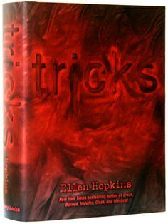 tricks - ellen hopkins ellen hopkin, strike book, book cover