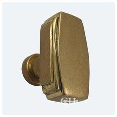 Art Deco Cupboard Door Knobs In Brass or Bronze finishes