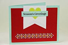 Season's Greetings Card by Erin Lincoln for Papertrey Ink (September 2014)