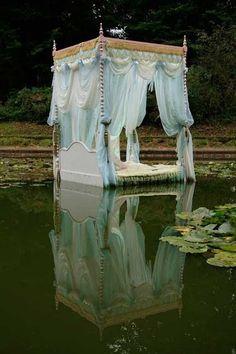 romantic lake bed