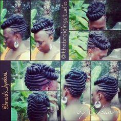 creativ updo, natur hairstyl, natur hairbraid, beauti bling, twist hair, hair style, fab hair, twist updo, black women