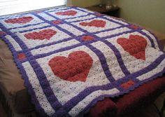 Love Letters Crochet Quilt by C.L. Halvorson