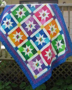 Jelly Bean Stars pattern on Craftsy.com