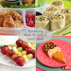 6 Ways to Spice Up Your Kids' Lunches for Back to School | #backtoschool #lunchideas #lunches #kidslunches #recipes #cute #inspiration #lunchesforkids #moms #realmoms #kids