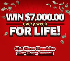 Win $5,000 a Week from Publish Clearing House - http://getfreesampleswithoutsurveys.com/win-5000-a-week-from-publish-clearing-house-3