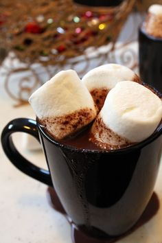 The BEST hot chocolate EVER