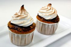 please, sir, can i have s'more? cupcake by pastryaffair, via Flickr