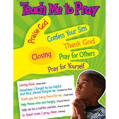 Teach Me to Pray - 5 finger prayer