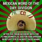 Mexican word of the day ~ Division