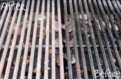 An easy tip for cleaning BBQ grills - Ask Anna