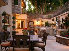 spectacular outdoor living space.