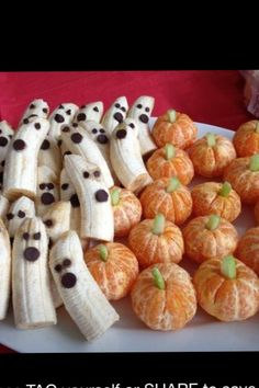 Halloween treats that are good for you. Something to do if kids have school on Halloween, send them to school with fun healthy treats