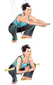 Kveta-Squat- Fitness Fix: How to Loosen Early-Morning Body Stiffness