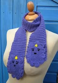 Sooooo Sam!!! She has requested I make her one for christmas.  lumpy princess crochet scarf - Google Search