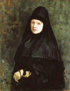 Монахиня (Ilya Repin)