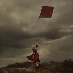 to leave or be left behind by brookeshaden, via Flickr