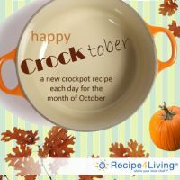 Crocktober--month's worth of Crockpot Recipes for October