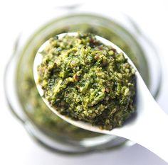 Cilantro and Green Chili Pesto